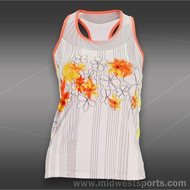 Lucky in Love Petal Power Flower Tank-Orange
