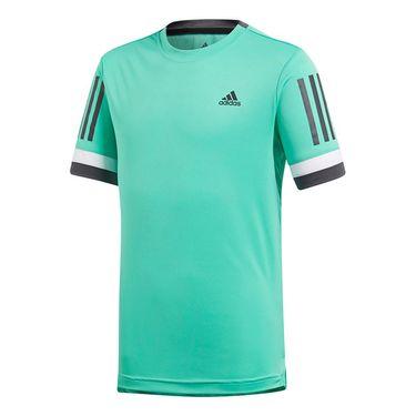 adidas Boys Club 3 Stripes Crew - Green