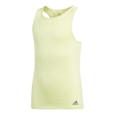 adidas Girls Dotty Tank - Semi Frozen Yellow