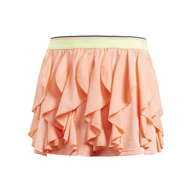 adidas Girls Frilly Skirt - Chalk Coral