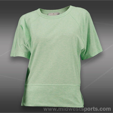 adidas Stella McCartney Barricade Shirt-Light Mint Melange