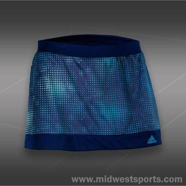 adidas Galaxy Print Skirt-Night Blue