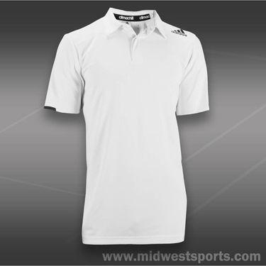 adidas all Premium Clima Chill Polo-White