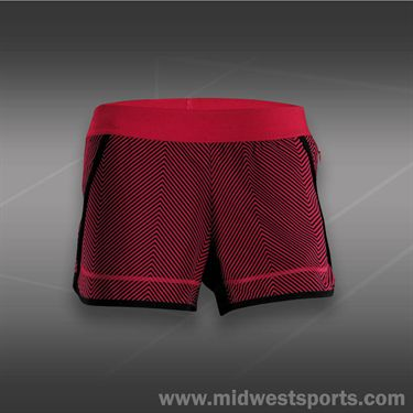 adidas Powerluxe Chevron Short-Vivid Berry