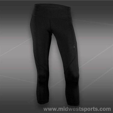 adidas Powerluxe Three Quarter Capri-Black