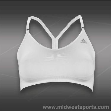 adidas Seamless Bra-White