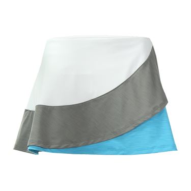 Eleven Dahlia Triple Threat 13 Inch Skirt - White/Frost Grey/Robin Blue