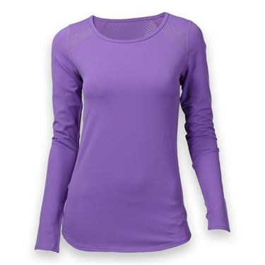 Tonic Volley Long Sleeve Top - Bright Amethyst