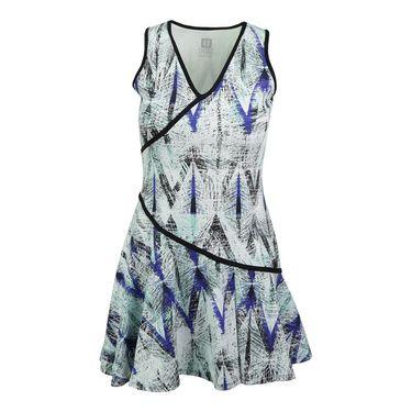 Eleven Diamond Love Letter Dress - Diamond Print