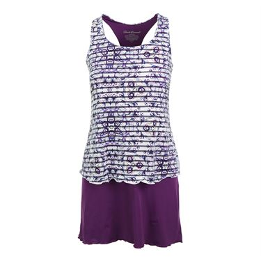 Denise Cronwall Mosaic Tennis Dress - Violet