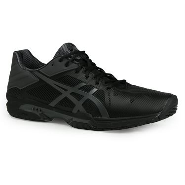 Asics Gel Solution Speed 3 Mens Tennis Shoe - Black/Grey