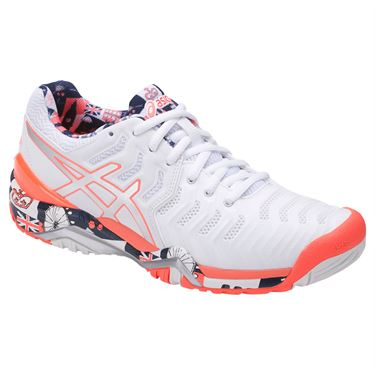 Asics Gel Resolution 7 Limited Edition London Womens Tennis Shoe