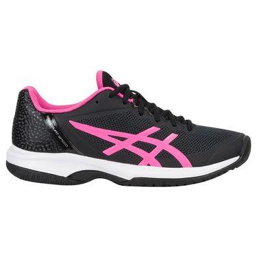 Asics Gel Court Speed Womens Tennis Shoe - Black/Hot Pink/White