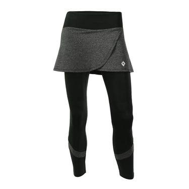 AdEdge Performance Skirted Leggings - Dark Grey Heather