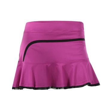 Inphorm Flounce Skirt - Wild Berry/Black