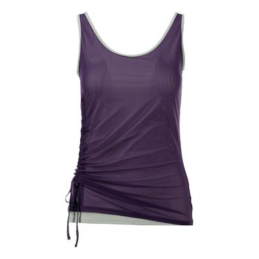 Inphorm Classic Ruched Cami - Grape/Vapor
