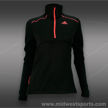 adidas Tech Fit 1/2 Zip-Black