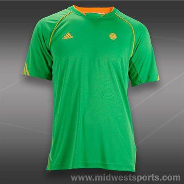 adidas Roland Garros Crew-Vivid Green