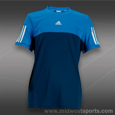 adidas Boys Response Crew-Trible Blue