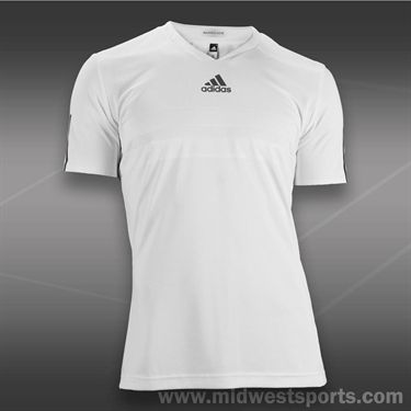 adidas Andy Murray Barricade Shirt -White, F96499