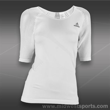 adidas Stella McCartney Stella McCartney Wimbledon Top -White