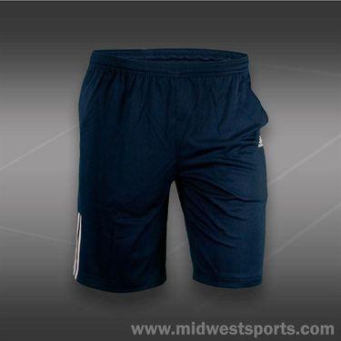 adidas Boys Response ClimaLite Bermuda Short-Navy/White, F96633