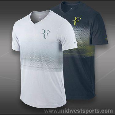 Nike RF Trophy V-Neck T-Shirt