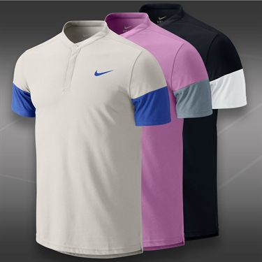 Nike Dri Fit Touch Solid Henley