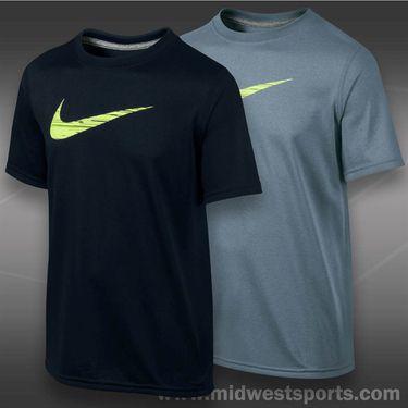 Nike Boys GFX Swoosh Fill Crew