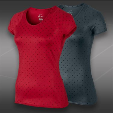Nike Advantage Printed Cap Sleeve Top