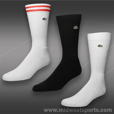Lacoste Crew Stripe Sock