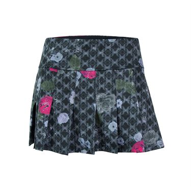 Eleven Floral Brocade 13 Inch Flutter Skirt - Print