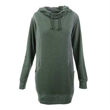 Colosseum High Rise Hooded Sweatshirt - Dusty Olive