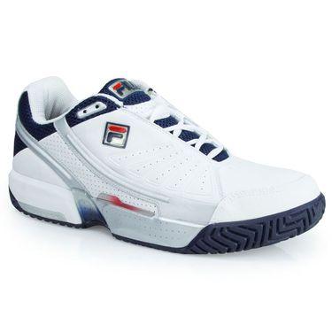 Fila Alfa Mens Tennis Shoe - White/Peacoat