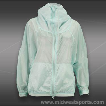 adidas Stella McCartney Barricade Warm-Up Jacket-Fresh Aqua