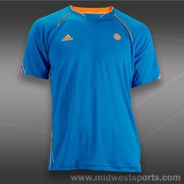 adidas Roland Garros Crew-Solar Blue