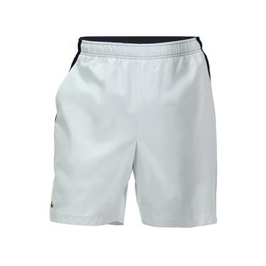 Lacoste Sport Colorblock Short - White/Navy/Fluo Yellow