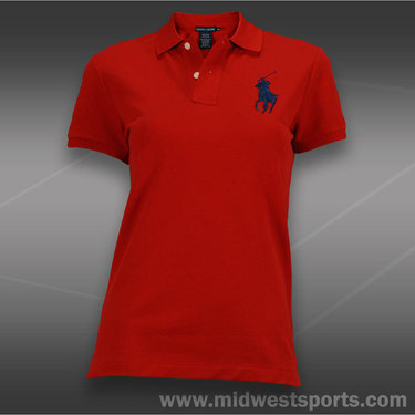 Polo Ralph Lauren Big Pony Polo-Red