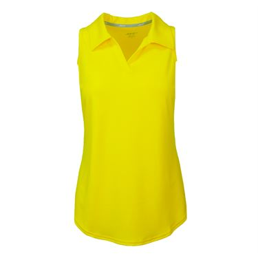 JoFit Limoncello Tech Cutaway Polo - Vibrant Yellow
