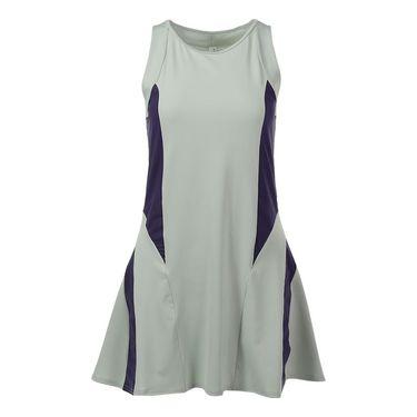 Inphorm Flounce Dress - Vapor/Grape
