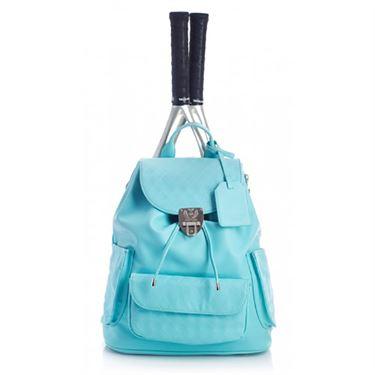 Court Couture Hampton Tennis Back Pack - Aquamarine