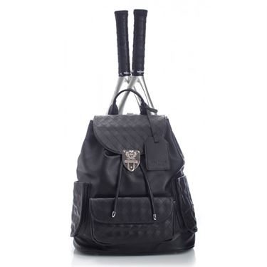 Court Couture Hampton Tennis Back Pack - Black