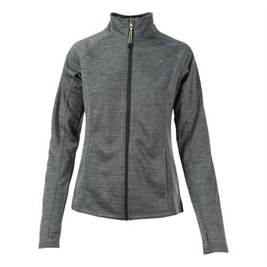 Head Ride On Fleece Jacket - Ebony Heather