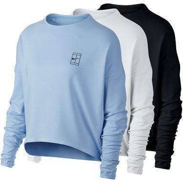 Nike Court Dry Long Sleeve Top