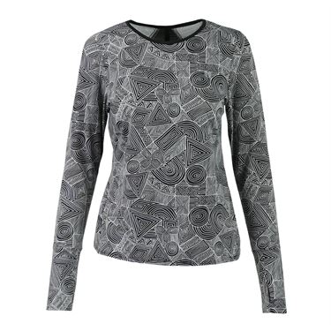 Eleven Intrepid Printed Long Sleeve Top
