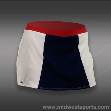 Lacoste Rib Front Tech Skirt