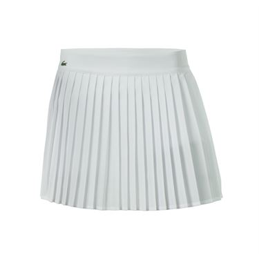 Lacoste Technical Solid Pleated Skirt - White