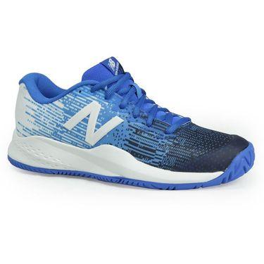 New Balance KC996UE3 Junior Tennis Shoe - Blue/White