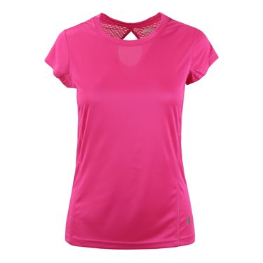 Prince Interlock Short Sleeve Top - Cosmic Pink