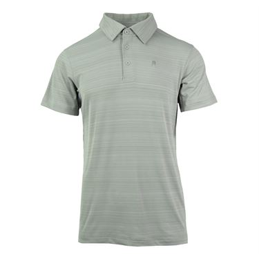Prince Striped Polo - Alloy Stripe